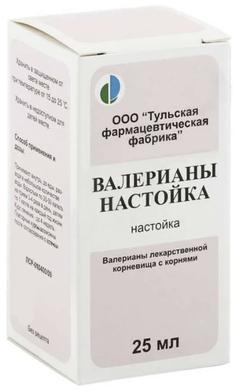 Валерианы настойка - фото упаковки