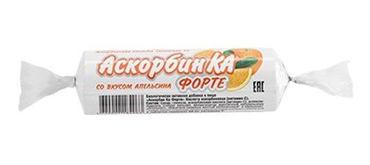 Аскорбин ка форте табл.жев с.вкусом апельсина