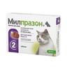 Антигельминтик для кошек KRKA Милпразон, 2 таблетки