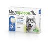 Антигельминтик для собак KRKA Милпразон, 2 таблетки