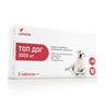 Антигельминтик для собак LIVISTO Топ Дог на 30кг, 2 таб.