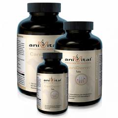 Витаминный комплекс ANIVITAL CaniDerm для кожи и шерсти собак, 120 таб.