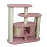 Домик для кошек ПУШОК ковролиновый «Маруська» 100х40х100см