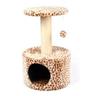 Дом-когтеточка для кошек FOXIE Жираф 40х40х60см