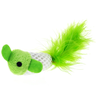 Игрушка для кошек CHOMPER Bright Набор Рыбки с хвостом из пера с кошачьей мятой