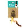 Игрушка для кошек CHOMPER Natural Птичка с кошачьей мятой