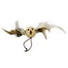 Игрушка для кошек CHOMPER Natural Птичка-мяч с пером