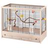Клетка для птиц FERPLAST GIULIETTA 6 NERA деревянная 81х41х64см