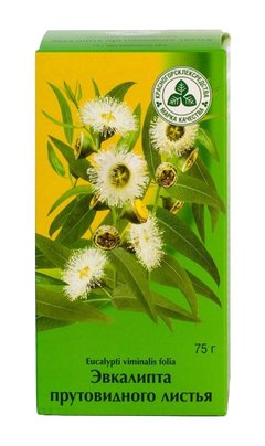 Эвкалипт листья - фото упаковки