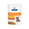 Корм для кошек Hill's Prescription Diet Feline C/D при лечении МКБ, курица пауч