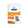 Корм для кошек Hill's Prescription Diet Feline C/D при лечении МКБ, лосось пауч