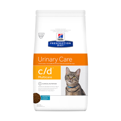 Корм для кошек Hill's Prescription Diet Feline C/D при лечении МКБ, океан.рыба