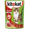 Корм для кошек KITEKAT говяд в соусе конс. пауч