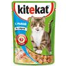Корм для кошек KITEKAT кролик в желе конс. пауч