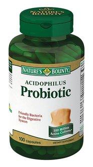 Нэйчес баунти ацидофилус (пробиотик)