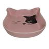 Миска для животных FOXIE Kitty розовая керамическая 15,5х3см