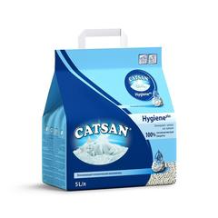 Наполнитель для кошачьего туалета CATSAN Гигиена впитывающий