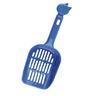 Совок для кошачьего туалета MAJOR синий 26,5x9,8см пластик