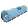 Тоннель для кошек MAJOR шуршащий голубой с игрушкой 25х90см, полиэстер
