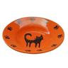 Миска для животных FOXIE Cat Plate оранжевая керамическая 15,5х3см