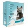 Наполнитель для кошачьего туалета PRO CAT Regular комкующийся экстра белой глины
