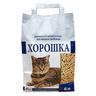 Наполнитель для кошачьего туалета ХОРОШКА древесный
