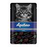 Корм для котят APETINO тунец, морковь в соусе пауч