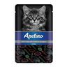 Корм для котят APETINO цесарка, морковь в соусе пауч