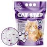 Наполнитель для кошачьего туалета CAT STEP Crystal Lavеnder впитывающий силикагелевый,
