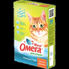 Витаминное лакомство для кошек Омега Neo+ «Крепкое здоровье» с морскими водорослями