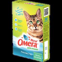 Витаминное лакомство для кошек Омега Neo+ «Мятное настроение»