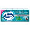 Платочки бумажные носовые Zewa Deluxe Ментол