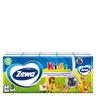 Детские Платочки Бумажные Носовые Zewa Kids