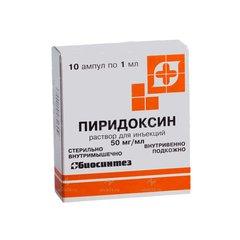 Пиридоксина гидрохлорид - фото упаковки