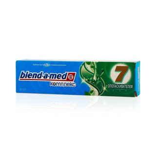 "Blend-a-med зубная паста ""комплекс 7"" с ополаскивателем"