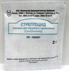 Стрептоцид - фото упаковки