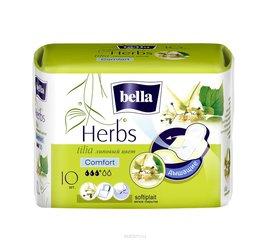 Bella herbs tilia softiplait прокладки ежедневные