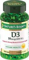Nature`s Bounty Витамин Д3