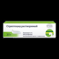 Стрептоцид нижфарм - фото упаковки