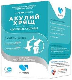 B-Form Artro Акулий хрящ Здоровые суставы - фото упаковки