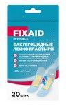 FIXAID Invisible лейкопластырь бактерицидный влагоустойчивый полимерный прозрачный 72х19мм