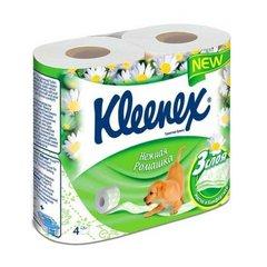 Клинекс бумага туалетная ароматизированная ромашка