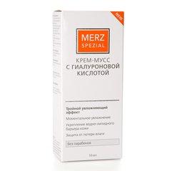 Мерц крем-мусс с гиалуроновой кислотой