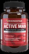 Active man risingstar