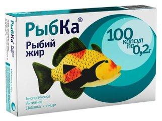 РыбКа рыбий жир для детей