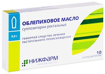 Облепиховое масло - фото упаковки