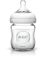 Авент бутылочка для кормления natural стекло