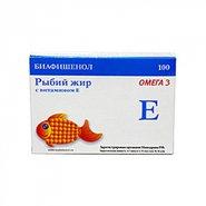 Биафишенол рыбий жир с витамином Е