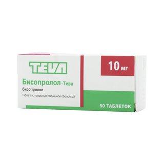 Бисопролол-Тева - фото упаковки